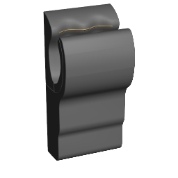 3D Model - Hand dryer (Tom)
