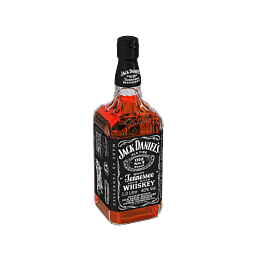 3D Model - Jack Daniel`s whiskey (Kolius)