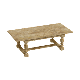 3D Model - 1930s French farmhouse table (Mykola Kuriansky)