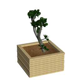 3D Model - Wooden tree pot B (Katja-Paliska d.o.o.)