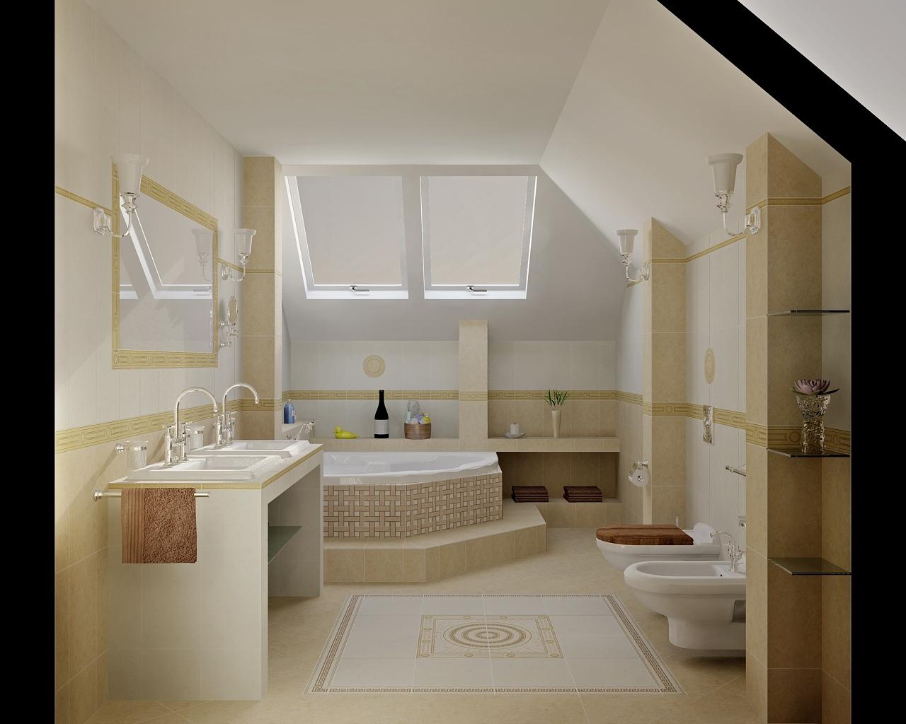 Bathroom Inspired By Roman Baths Bathroom By Tom Aquastyl Cz