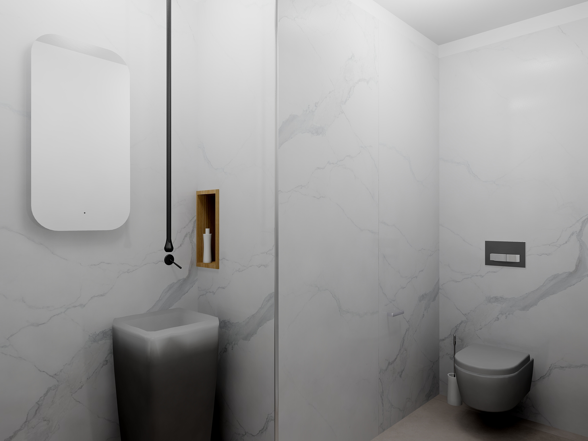 Mattout Carrelage WC INVITES V2 2 Bathroom By Mattout ...
