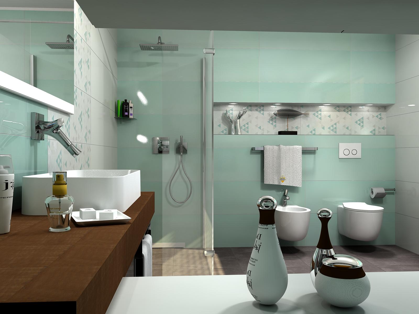 Love Tiles Acqua Place Bathroom By Mitja Paliska Doo