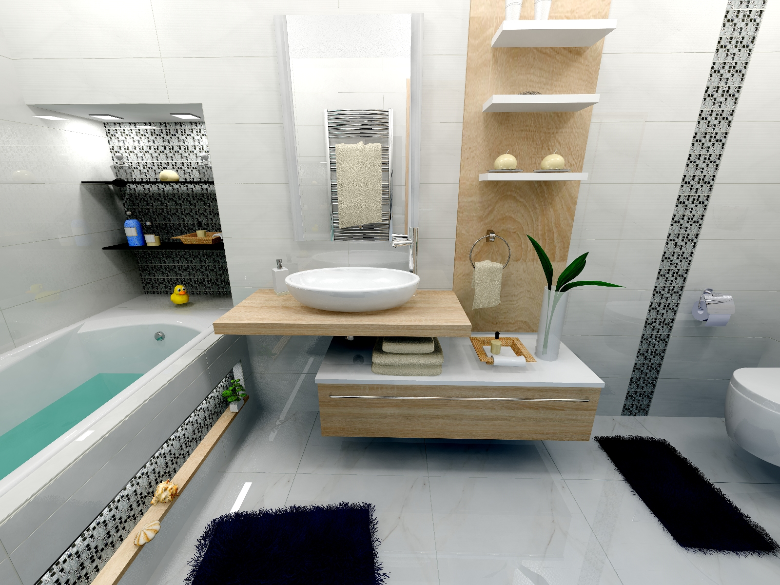 Ragno Royale Bathroom By juditkomuves() on ViSoft360 Portal