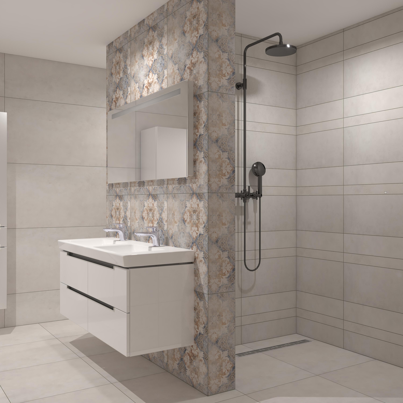 Warehouse IN10 Wit Grijs Bathroom By Mario Roos Villeroy