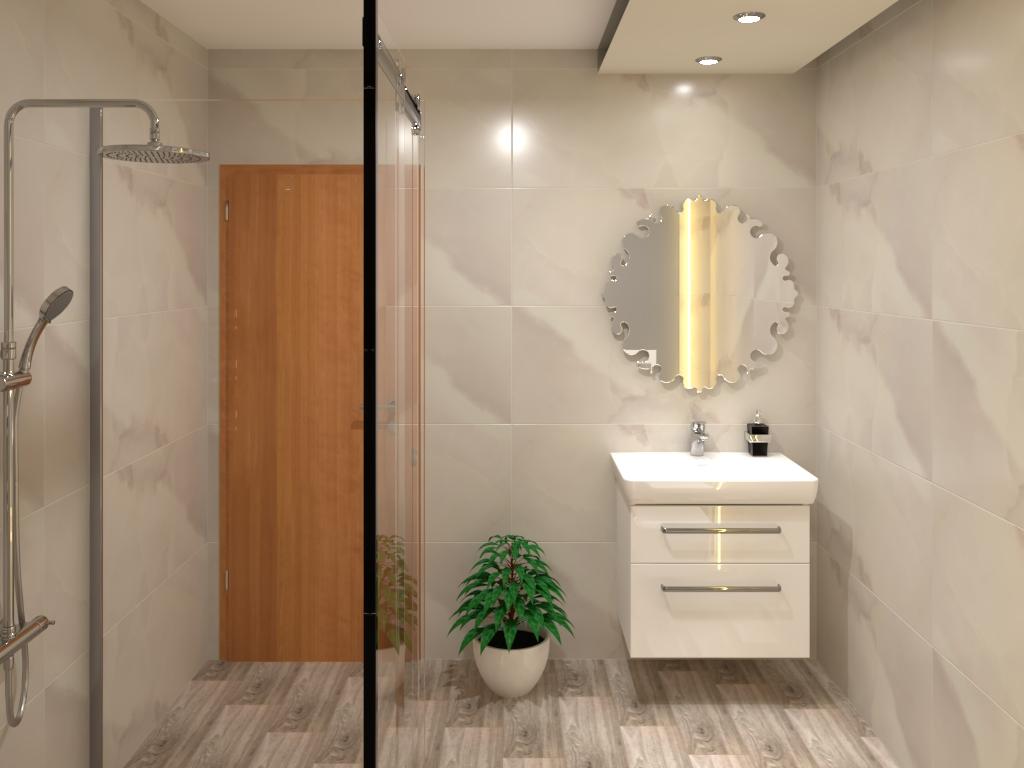 BATHROOM Bathroom By ENG WALEED ALWAWAN (ALWAWAN COMPANY) on