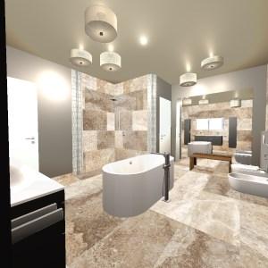 gro es badezimmer 1 12 bathroom by julian bergmann fliesen. Black Bedroom Furniture Sets. Home Design Ideas