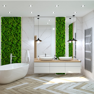 Bathroom Moss Wood Bathroom (ViSoft)