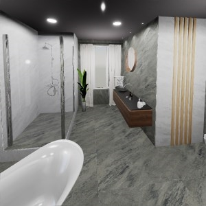 Bathroom Prizren Dark & Light (Temaj Ntsh)