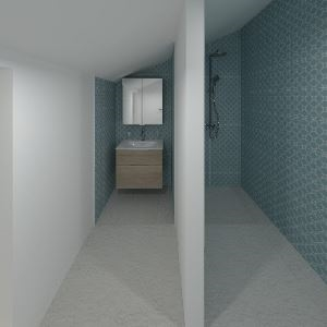 Bathroom 112-R+1 (Mattout Carrelage)