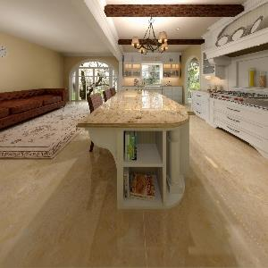 Bathroom US Kitchen Travertine (Vitaliy Grynenko)