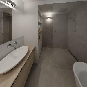 Badkamer 1-2-18-3 Bathroom By John Broeken(Sani-Bouw) on ViSoft360 ...