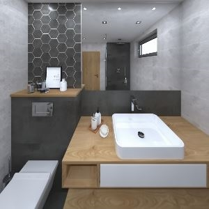 Bathroom TOWN antracit-grey (ADIK)