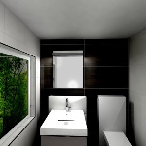 Bathroom acanto-Icon-Koje (Waschsalon)