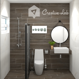 LivingRoom Hairi_Bathroom (Creative Lab Malaysia)