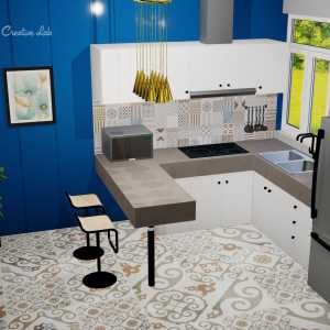 LivingRoom Hairi_Kitchen (Creative Lab Malaysia)