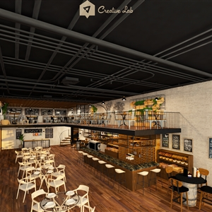 LivingRoom Belle_Cafe (Creative Lab Malaysia)