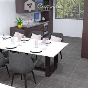 LivingRoom Collen_Kitchen (Creative Lab Malaysia)