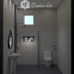 LivingRoom Collen_Bathroom (Creative Lab Malaysia)