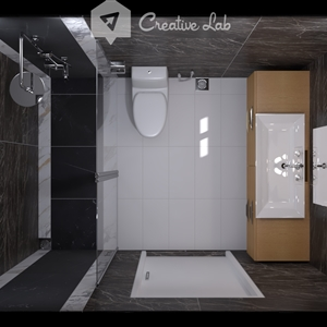 LivingRoom  Collen_ Bathroom (Creative Lab Malaysia)