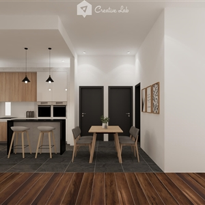 LivingRoom Belle_Kitchen (Creative Lab Malaysia)
