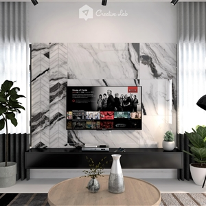 LivingRoom Judd_TV Feature Wall (Creative Lab Malaysia)