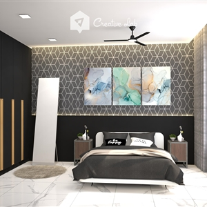 LivingRoom Riley_Bedroom (Creative Lab Malaysia)