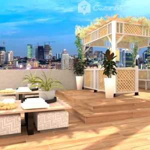 LivingRoom FIRDAUS SAFIE_ROOFTOP (Creative Lab Malaysia)