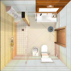 Kitchen Hotel Bath Room (project) (Mykola Kuriansky)