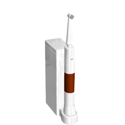 3D Model - Toothbrush (Dino Goossens)