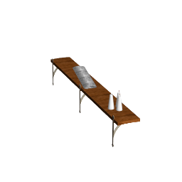 3D Model - Old fashioned board (Dino Goossens)