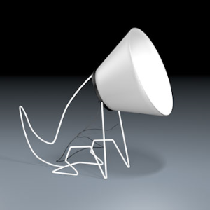 3D Model - Dog light (Dino Goossens)
