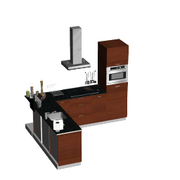 3D Model - Kitchen_corner_2 (ViSoft Nederland)