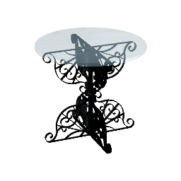 3D Model - Wrought Iron Round Table (Andrew Dyshkant)