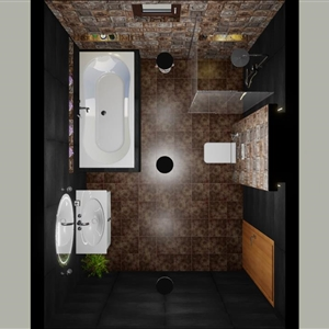 80 BATHROOM (ANIMATION) (ENG.WALEED ALWAWAN )