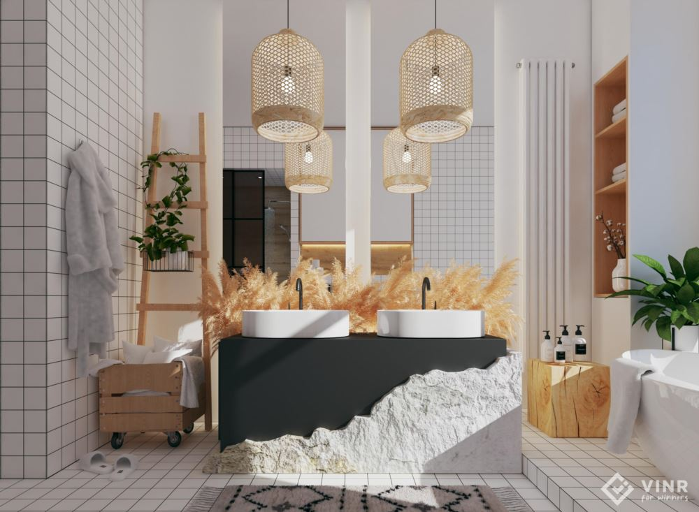 Bathroom design VIZ-3